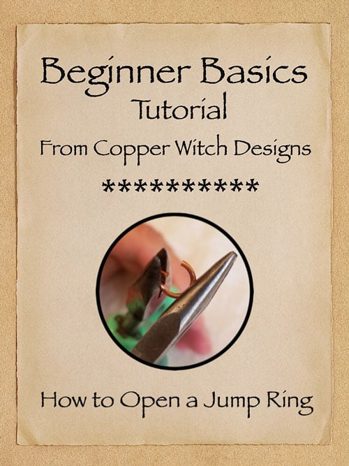 How to Open a Jump Ring Tutorial